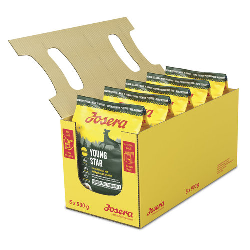 JOSERA Pack Sacos Perro YoungStar 5x900 GR.