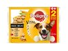 Pedigree Vital Protection Multipack Buey y Pollo en Salsa 4+2 100 Gr.